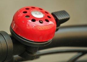 verkehrssicheres Fahrrad mit Klingel