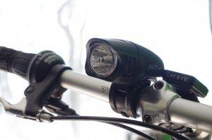 verkehrssicheres Fahrrad mit Licht