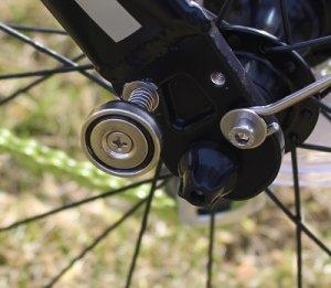 Faltrad mini mit Magneten