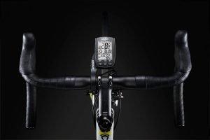 Fahrradcomputer mit Höhenmesser