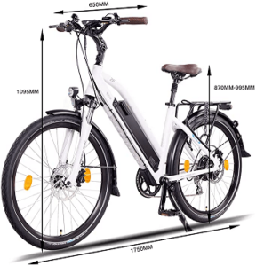NCM Milano Plus Urban e-bike